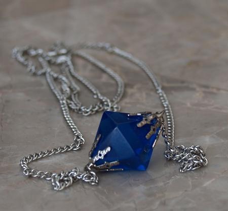 Lana Blue Kryptonite Necklace