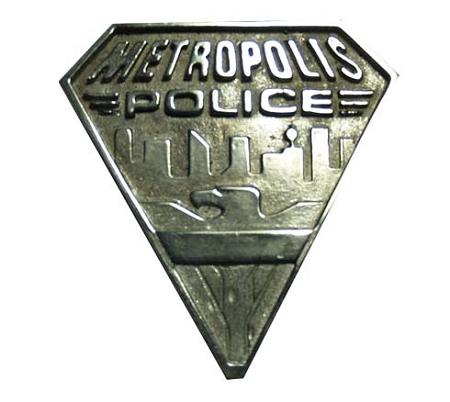 metropolis police badge