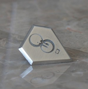 Mini Jor-el Lapel pin, Tie Tack