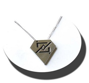 Symbol of ZOD necklace